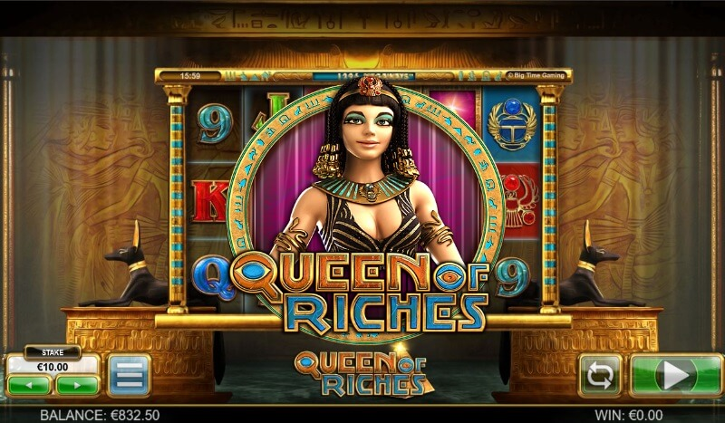 Queen of Riches Megaways Big Time Gaming