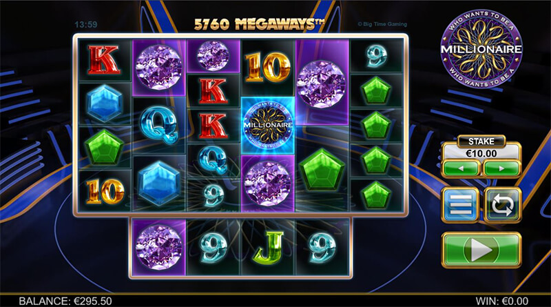 Who Wants To Be A Millionaire Megaways videoslot