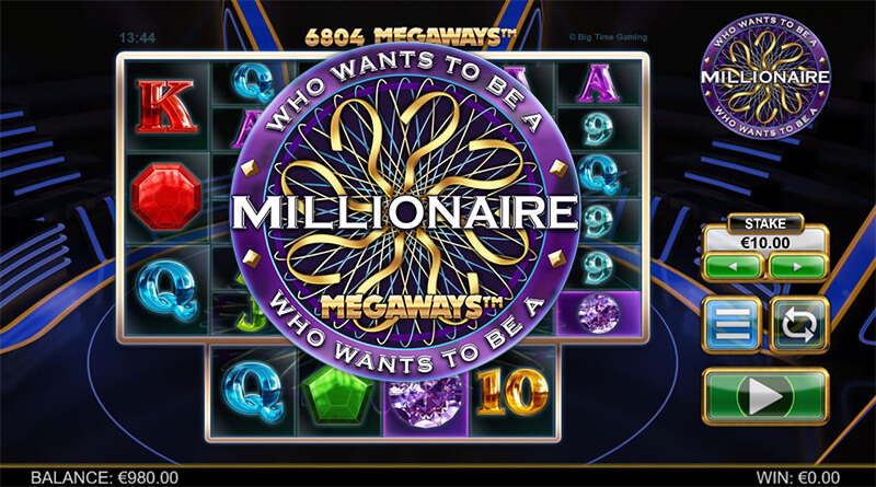 Who Wants To Be A Millionaire Megaways Big Time Gaming
