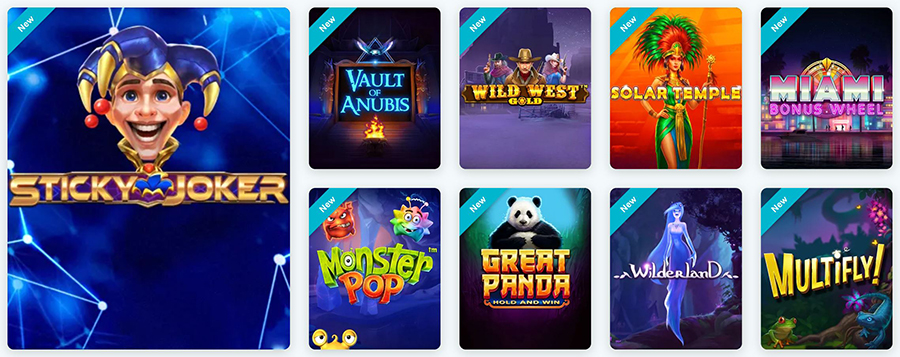 lucky days casino games