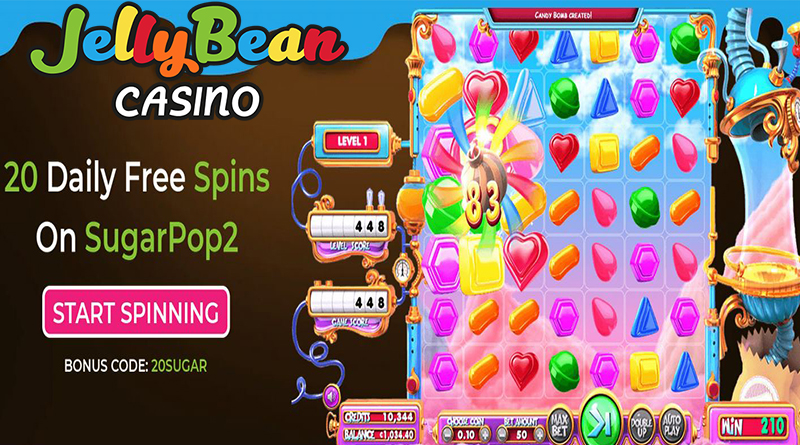 JellyBean Casino Daily free spins