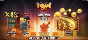 Hall of the Mountain King features Lucky Days Casino