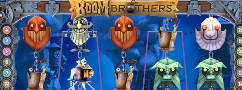 Boom Brothers videoslot