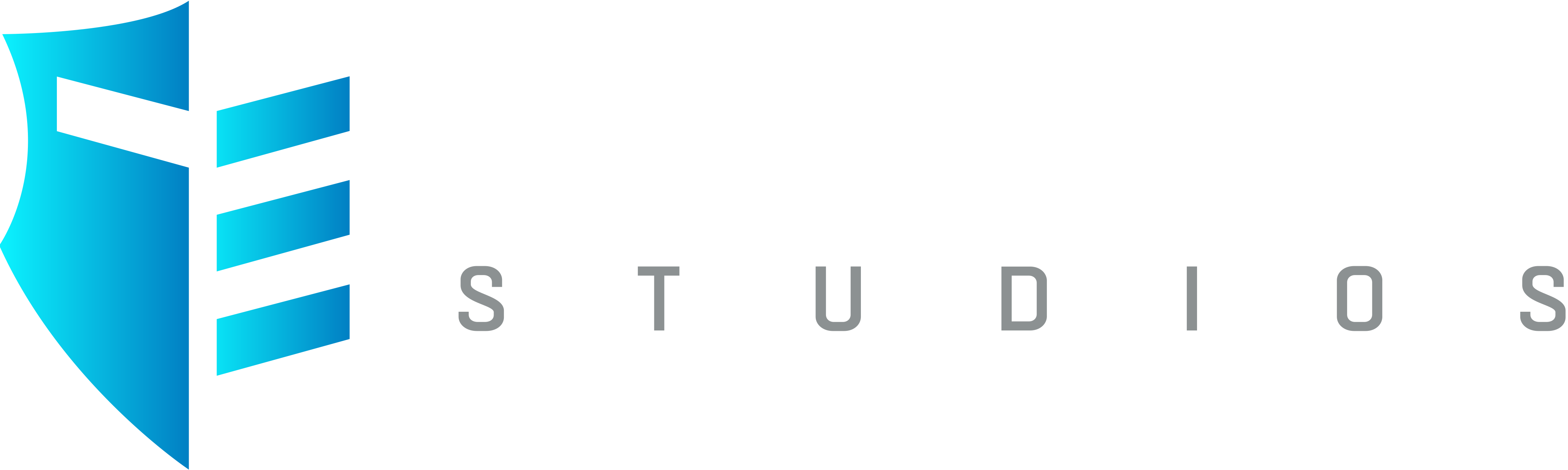 Triple Edge Studios blauw wit