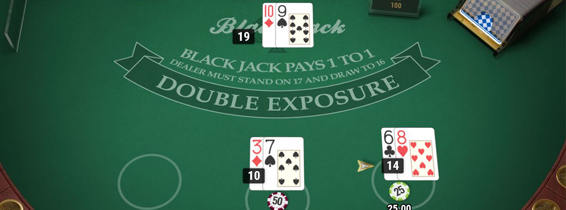 blackjack double exposure