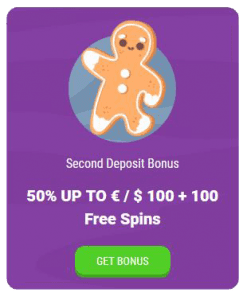 Cookiecasino second deposit bonus