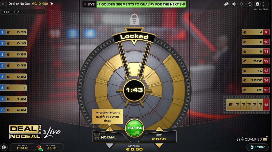 deal or no deal live spin