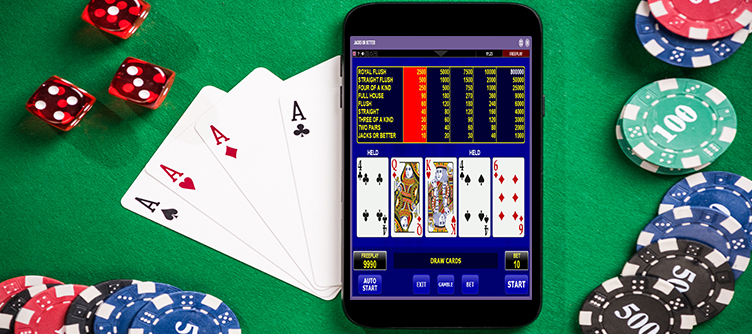 jacks or better video poker mobiel
