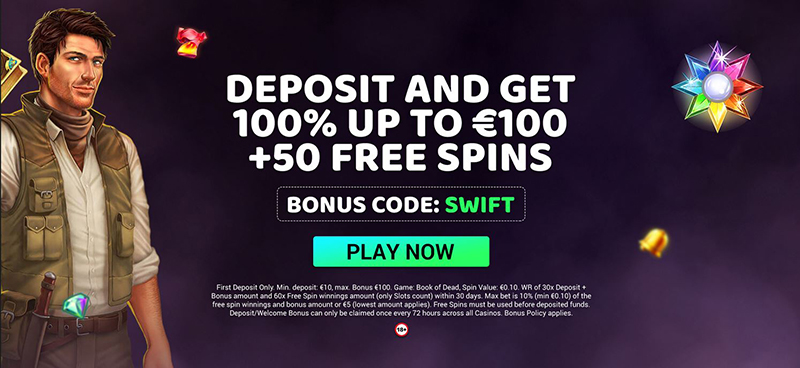 swift casino welkomstbonus