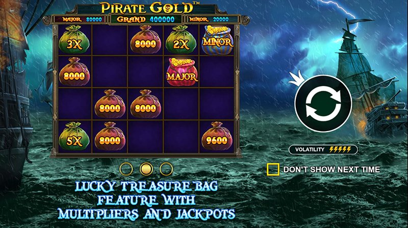 Pirate Gold multiplier-jackpot