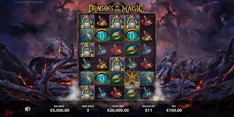 dragons and magic multiplier
