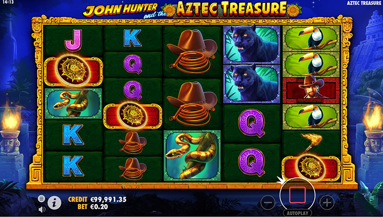 john hunter and the aztec of treasure scatter