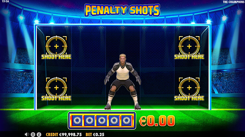 the champions penalty shots