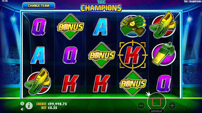 the champions scatter