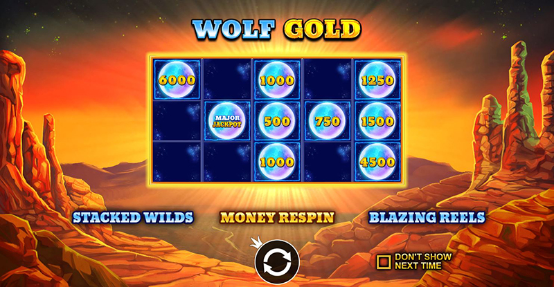 wolf gold money re-spin