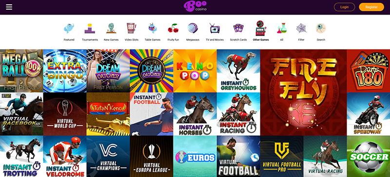 BooCasino Other games
