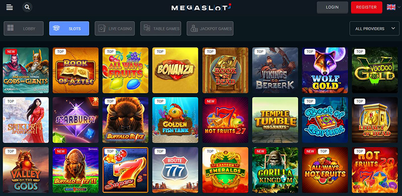 Megaslot Casino video slots