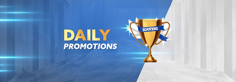 Scatters Casino daily promotions