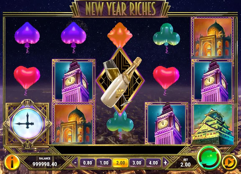 New Year Riches videoslot