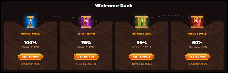 Welcome pack AmunRa