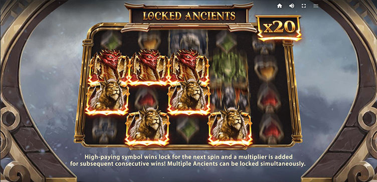 Ancients Blessing locked ancients