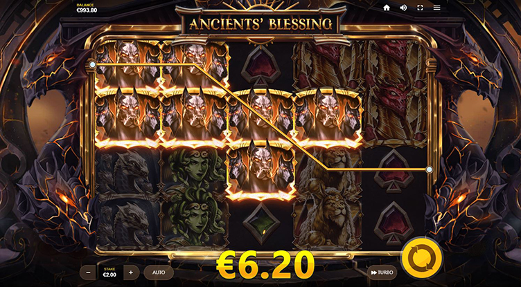 Ancients Blessing videoslot