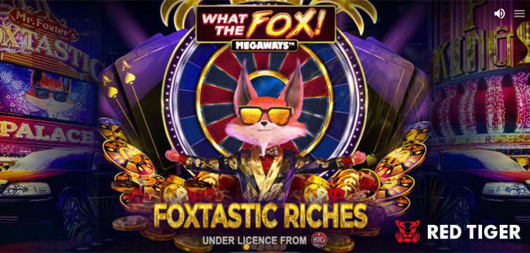 What The Fox Megaways Red Tiger