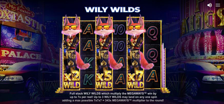 What The Fox Megaways wily wilds