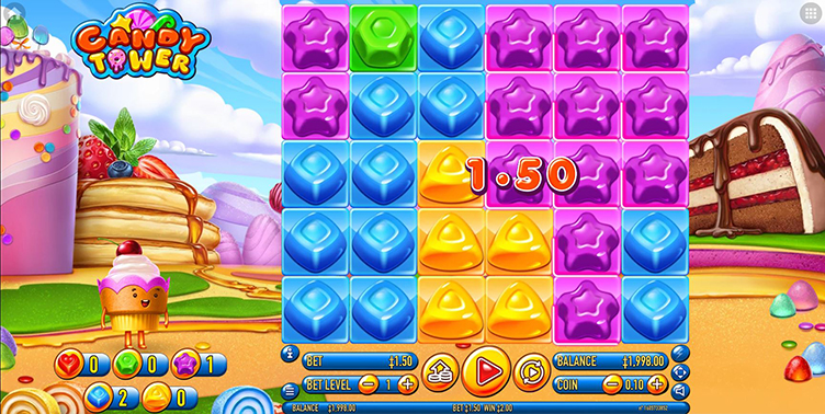Candy Tower Videoslot