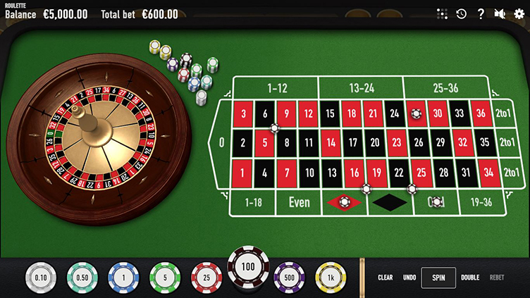 Online roulette Relax Gaming
