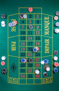 Online casino french roulette table